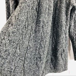 J. Jill Sweaters - J. Jill Wool Blend Gray Cable Knit Sweater S